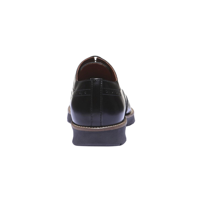 Kožené polobotky v Derby stylu bata, 2019-828-6159 - 17