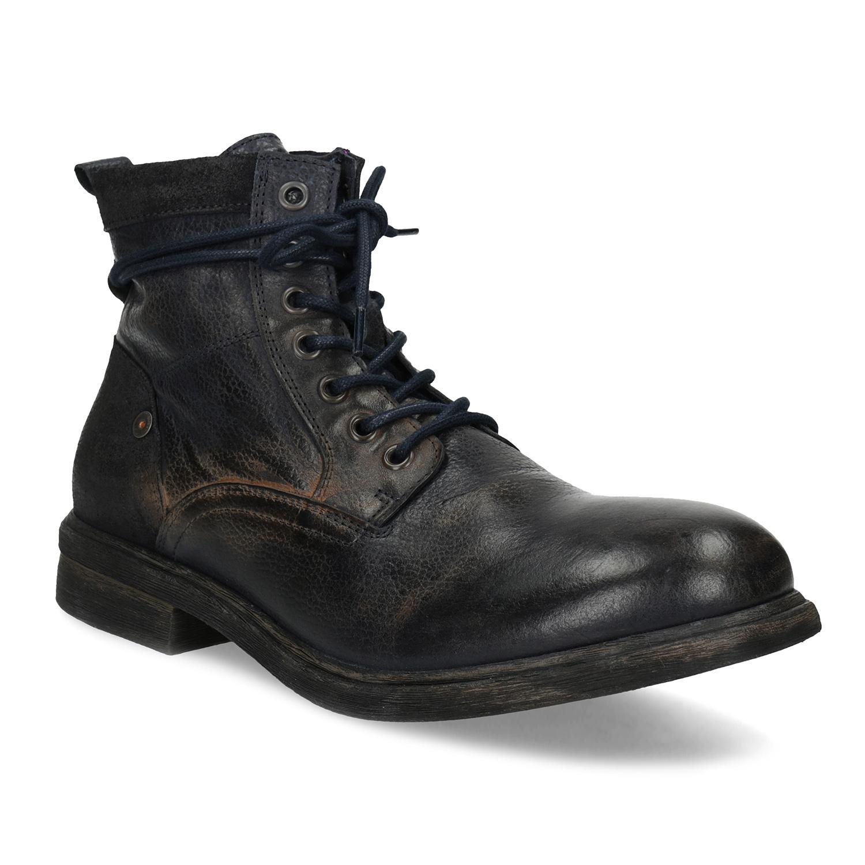 Baťa Pánská kožená kotníčková obuv - Všechny boty  7f013de1ad