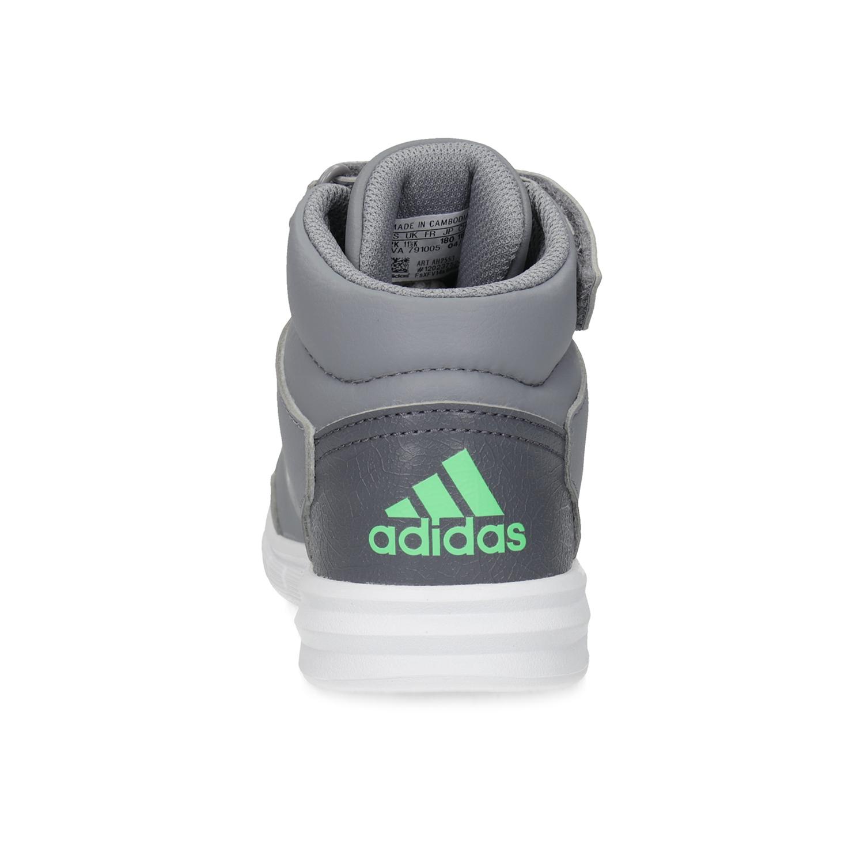 Adidas Dětské šedé kotníčkové tenisky - Všechny dětské boty  a4d20cbc7b