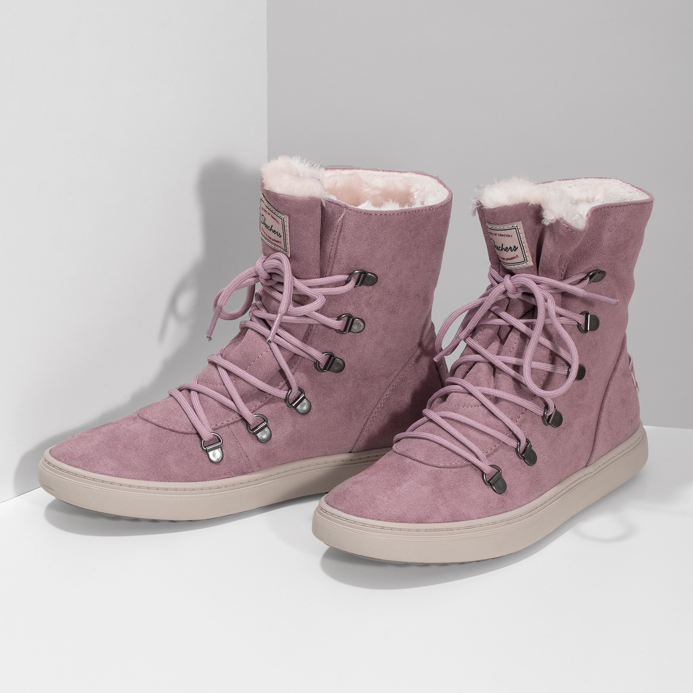 Skechers Dámská růžová zimní obuv se zateplením - Ženy  4d487ebe7d